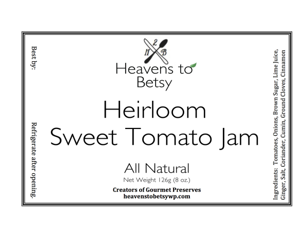 Heirloom Tomato Jam